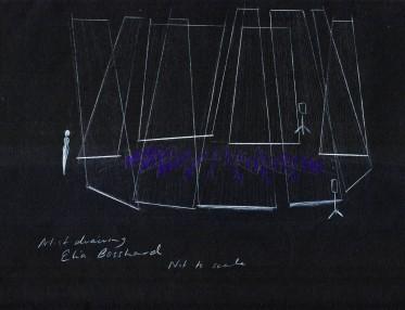 Three Voices set design- Elia Bosshard