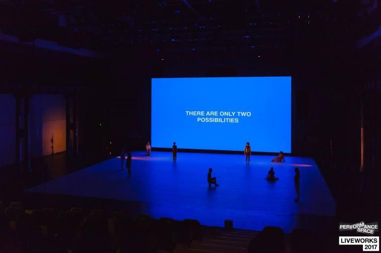 'Rhetorical Chorus'- Liveworks 2017